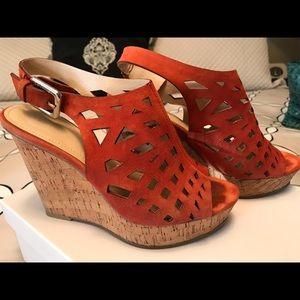 """Calvin Klein """"Hilda"""" wedge sandals"""